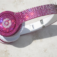 Bling Your BEATS by Dre in FADE Swarovski Crystals design