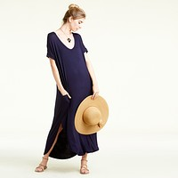 RL Navy Maxi Dress
