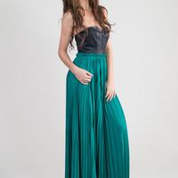 Angel Strapless Maxi Dress