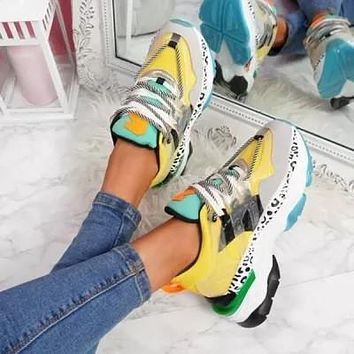 Women's Chunky Dad Sneakers