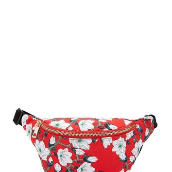 Floral Print Fanny Pack