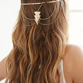 Triangle Pendant Headband