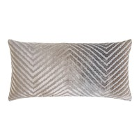 Coyote Chevron Velvet Pillows by Kevin O'Brien Studio