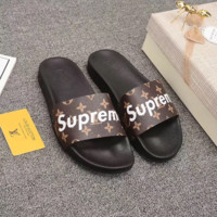 SUPREME LOUIS VUITTON Fashion Slippers