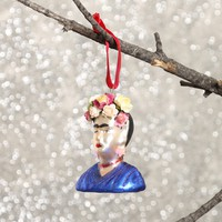 Frida Ornament - Blue - What's New at Gypsy Warrior
