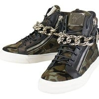 GIUSEPPE ZANOTTI London Camuf Hi-Top Sneakers Shoes Size 7 US 40 EU