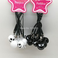 10Pcs Jack Nightmare Before Christmas Cell Phone Strap JINGLE BELLS Dangle Charms Gifts PCXB