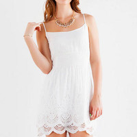 CELINA EYELET DRESS