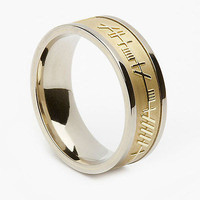 AMAZING MENS LOVE BAND IN 925 STERLING SILVER BAND FOR ENGAGEMENT AND WEDDING