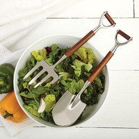 Garden Tool Shaped Salad Servers