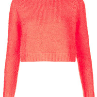 Knitted Fluffy Crop Top - New In This Week - New In - Topshop