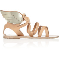 Ancient Greek Sandals - Nephele leather wing sandals
