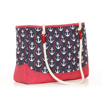 Ropes & Anchors Tote Bag