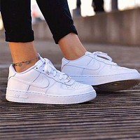Nike Air Force 1 new men's and women's casual trendy sports shoes sneakers