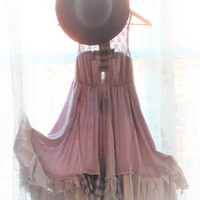 free people dress, Romantic lilac sundress, True rebel clothing Sm