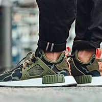Best Online 2017 Adidas NMD XR1 Duck Camo / Olive Cargo - BA7232  Running Sport Shoes Camouflage Sneakers