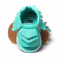 Mermaid-PU Baby Sandals