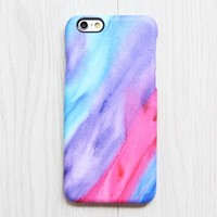 Pastel Silk Watercolor iPhone XR Case iPhone XS Max plus Ethnic iPhone 8 SE  Case Samsung Galaxy S8 S6  Case 083