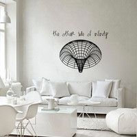 Science art astronomy - Black Hole vinyl wall decal for your lab classroom school university scientific decor