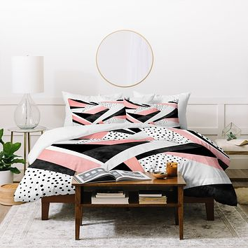 Elisabeth Fredriksson Happy Girl Duvet Cover