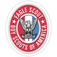 'Eagle Scout' Sticker by flyer4