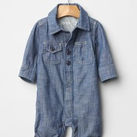 Gap Baby Chambray One Piece