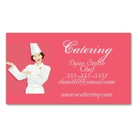 Business Card-Chef & Catering