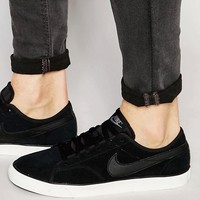 Nike Primo Court Leather Trainers In Black 644826-006 at asos.com