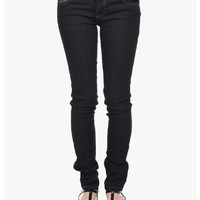 Black Rockin Static Skinny Jeans   $10.00   Cheap Trendy Jeans Chic Discount Fashion for Women   Mod