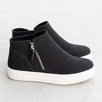 Cool Babe Black Soda High Top Sneakers (7-11)