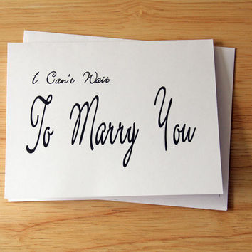 Wedding Card, Card For Groom, Card For Bride, Groom Gift, Bride Gift, Gift From Bride, I Can't Wait, Romantic Card,  Groom Wedding Card