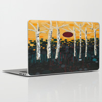 :: Red Moon Love Song :: Laptop & iPad Skin by :: GaleStorm Artworks ::