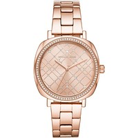 Michael Kors Nia Rose Gold 36mm Ladies Watch - MK3990