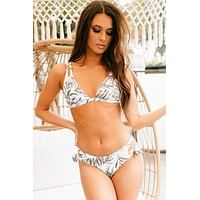 Tropical Traditions Double Strap Two Piece Bikini (Tropical)