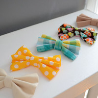 Woodland Collection Hair Bows