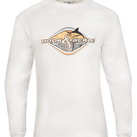 Men's Shield Logo L/S UV Fishing T-Shirt