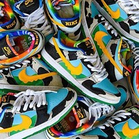 NIKE SB Zoom Dunk Low low-top classic fashion skateboard sneakers shoes Colorful