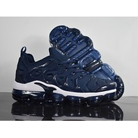 "2018 Nike Air Max Plus TN VM ""Navy"" Vapormax Vapor Max Men Women Fashion Running Sneakers Sport Shoes"