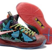 NIKE LEBRON X - WHAT THE (MVP)
