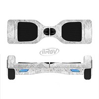 The White Textured Lace Full-Body Skin Set for the Smart Drifting SuperCharged iiRov HoverBoard