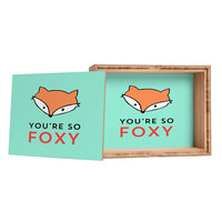 Allyson Johnson You are so foxy Storage Box