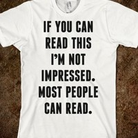 If You Can Read This