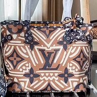 LV Onthego full printed logo women's wild shopping bag handbag two-piece set