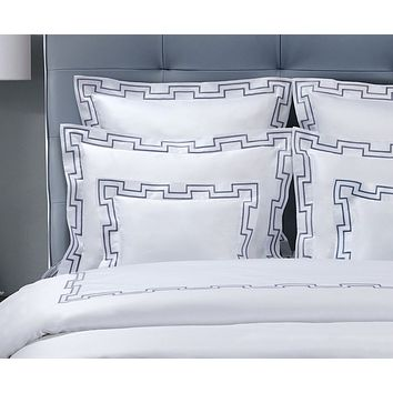 Musica Embroidery Bedding by Dea Linens