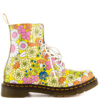 Dr Martens - Pascal - Yellow Vintage Daisy