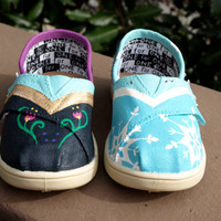 KOOAK Kustoms Disney Frozen-Inspired Toms Flats for Kids