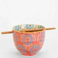 Medallion Noodle Chopsticks + Bowl