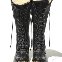 Women's Signature Tumbled-Leather L.L.Bean Boots, 16 Shearling-Lined | Free Shipping at L.L.Bean