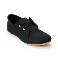 Volcom Girls Soul Mates Black Canvas Slip On Shoe at Zumiez : PDP