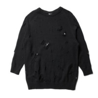 Publish Mida Knitted Sweater In Black